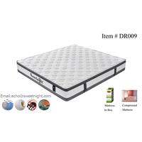 Comfortable Euro-top memeory foam pocket spring mattress, queen king size