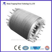 OEM explosion-proof motor aluminum die-casting rotor laminated iron core