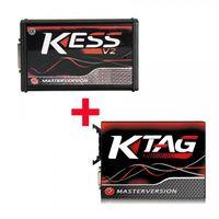 Kess V2 V5.017 SW V2.47 Red PCB EU Online Version Plus Ktag 7.020 SW V2.25 Red PCB EURO Online Versi