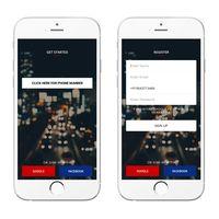 Apporio Taxi Mobile App (Uber Clone)