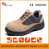 suede leather steel toe safety shoe man RH123