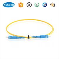 9/125 Simplex SC/UPC-SC/UPC Fiber Optic Patch Cord