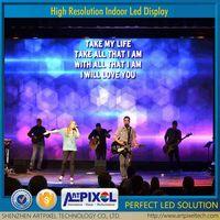 wholesale hd high brightness advertising video display indoor P6 led screen