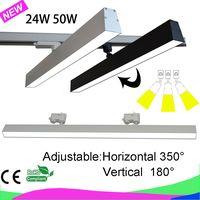 24W 40W 50W LED track linear light