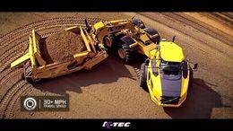 K-Tec's Earthmoving Scrapers