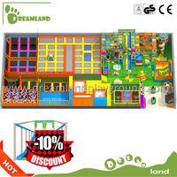 Funny game toys for commercial indoor trampoline park,kids toys 12ft trampoline
