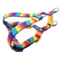 Colorful Dog Harness: Popular Rainbow Dog Harness Manufacturer