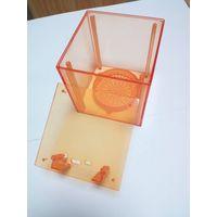 Transparent CNC Plastic Rapid Prototype For Automotive / Sound Equipment , Logo Customized