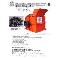 hammer mill for metals scraps/mine blocks