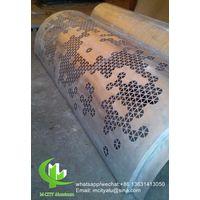 aluminum laser cutting panel for column