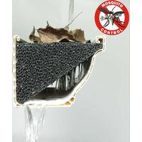 Silicone Foam Gutter Stuff 5-Inch K-Style Gutter Guard Pro (26 Feet)