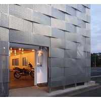 Decorative Customized Perforated Aluminum Sheet For Facade