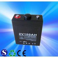 Low Price Double Channel 2v100ah Sealed OPzv GEL Lead Acid Battery