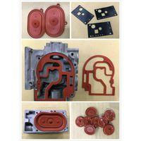 valve diaphragm rubber parts silicone rubber diaphragm for valve thumbnail image
