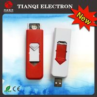 Electronic windproof USB lighter -TQ528