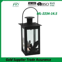 Elegant good quality hanging indoor and outdoor decoration handmade metal lantern
