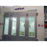 Large Spray Paint booth, Industrial Coating line Equipment