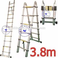 EMJ 3.8m joint telescopic ladder