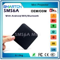 SMS6A Built in Battery Android Projector,Mini Projector,pico Projector