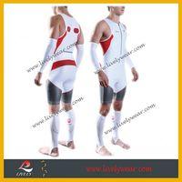 2015 Lastest Design Sublimation Printing Compression Spandex Triathlon Suit