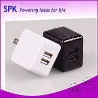 2 port USB desktop charger, tablet charger, desktop travel charger 5 v 2.1a power supply thumbnail image