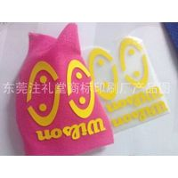 factory direct custom 3D heat transfer label FOR garment