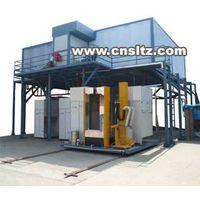 compact powder coating line