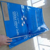 Plastic BOPP Film Laminated PP Woven 25kg Fertilizer Sack,Feed Bag