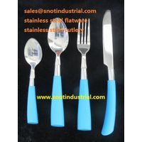 newest desigh flatware set with mirror polished thumbnail image