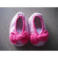 hand crochet baby shoes thumbnail image