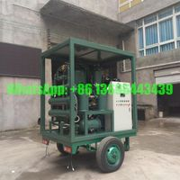 Trailer-Mounted Transformer Oil Purifier, Insulating Oil Purification Unit, Dielectric Oil Purifying