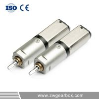 3V 6mm 105rpm small geared motor with gearboxes for mobile phone thumbnail image
