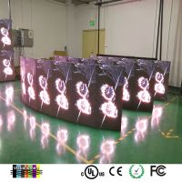 Die-casting aluminum outdoor P4.81 full color SMD LED screen for stage rental ,Video display