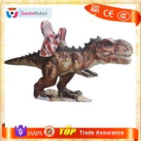 Theme Park Lifelike Animated Dinosaur theme park rides