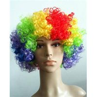 Cheap party wigs for football fans XRP-FLAG from E&A wig