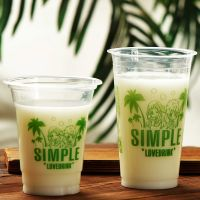 360ml 12OZ Custom Printed Clear Transparent Disposable PP Plastic Cup