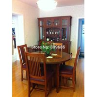 High Grade Solid Wood Dining Table Made of High Quality American Red Oak Table / American Style Dini