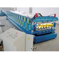 Double Cladding Sheet Roll Forming Machine