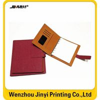 Leather cover paper back journey diary notebook