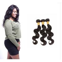 [8A]3 Bundles Indian Body Wave Hair Weave