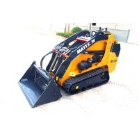 CHINESE MANUFACTURER OF LOADER MATTSON 2017 mini excavator skid steer loader with Perkins