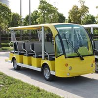 14 person electric tourist sightseeing bus car
