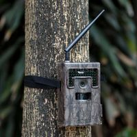 12mp 1080P Wholesale GSM GPRS MMS deer Camera Ghost Time Lapse Timer and FastFire