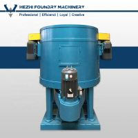 Rotor Type / Rolling Wheel Foundry Sand Mixer Muller Mixing Machine For Green Sand Casting