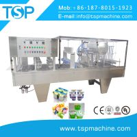 New Design Roll Film Cup Filling & Sealing Machine for Juice/Jelly/Water/Milk thumbnail image