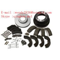 Sinotruk HOWO Spare Truck Parts Disc BRAKE LINING