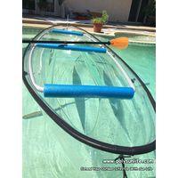 2015 summer stlye transparent kayak/touring Clear Canoe