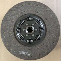 China GOLDEN DRAGON Bus Spare Parts-Clutch Disc-829067