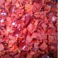frozen foods frozen red pepper diced supply from china