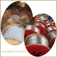 galvanized steel strand 3/8 inch for guy wire ASTMA 475 BS 183